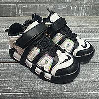 Кроссовки AIR черно-белые