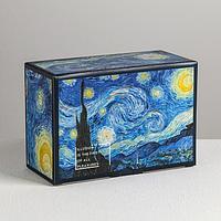 Коробка пенал «Ван Гог», 22 × 15 × 10 см