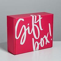 Коробка двухсторонняя складная Gift box, 27 × 21 × 9 см