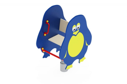 Качалка на пружине Пингвиненок