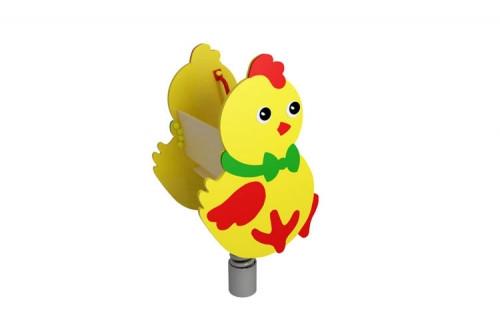Качалка на пружине Цыпленок