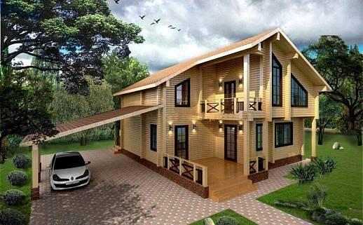 Проект дома №3336