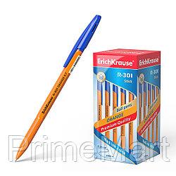 Ручка шариковая ErichKrause® R-301 Orange Stick 0.7, цвет чернил синий
