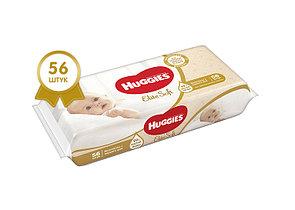 Салфетки влажные Huggies Elite Soft 56шт 99% чистой воды