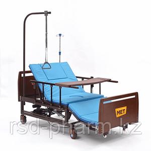 MET REVEL XL (120см) Электрическая медицинская кровать для ухода за лежачими больными с переворотом и туалетом