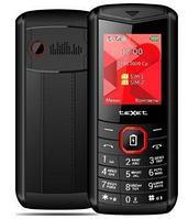 Мобильный телефон Texet TM-D206 черно красный