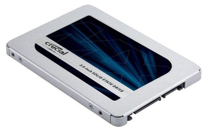 """Твердотельный накопитель 1000Gb SSD Crucial MX500 2.5"""" CT1000MX500SSD1."""