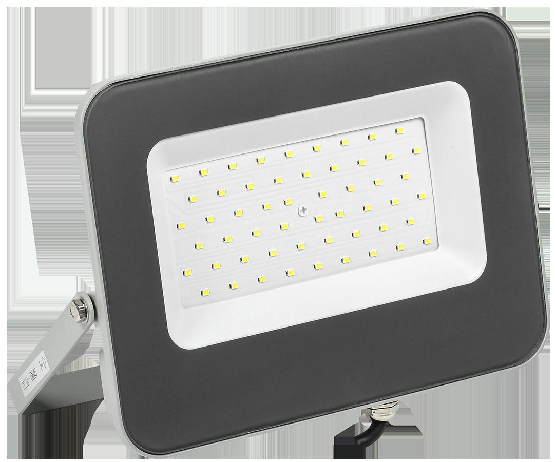 Прожектор светодиодный СДО 07-50 IP65 серый IEK