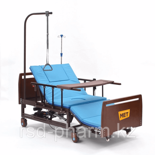 Комплект медицинской кровати MET REVEL XL (120см)  с переворотом и туалетом