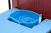 Комплект медицинской кровати MET REVEL XL (120см)  с переворотом и туалетом, фото 4