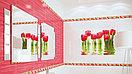 Кафель | Плитка настенная 25х50 Фреш | Fresh (панно из 6 плиток) тюльпан, фото 4