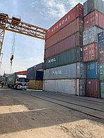 Терминальные работы: 20ft груженный контейнер