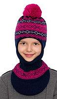 Шапка-шлем для девочки. Фирма Ander