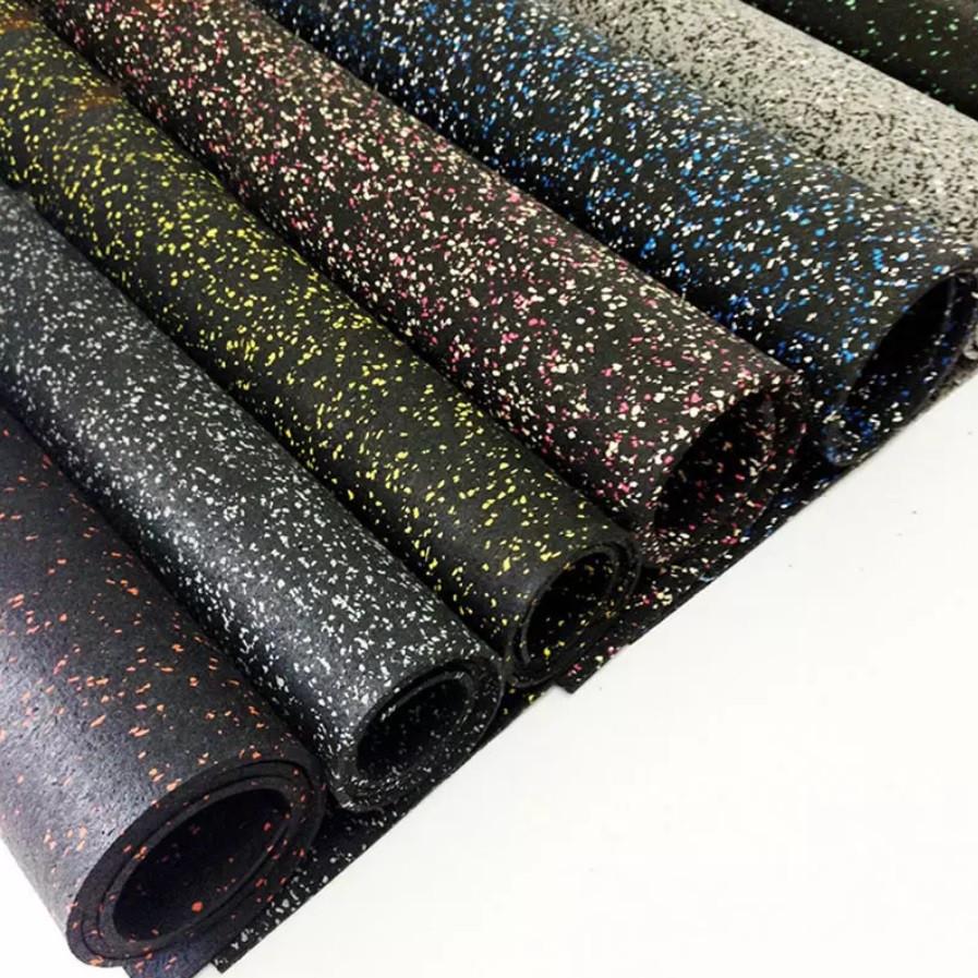 Резиновое рулонное покрытие, толщина 4-12мм, различные цветовые гаммы