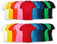 Цветные футболки для сублимаци...