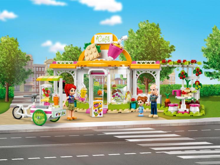 LEGO Friends 41444 Органическое кафе Хартлейк-Сити, конструктор ЛЕГО - фото 1