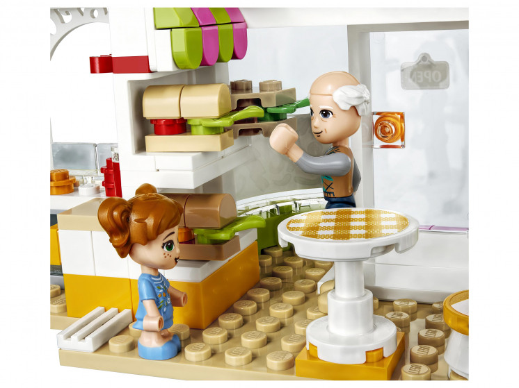 LEGO Friends 41444 Органическое кафе Хартлейк-Сити, конструктор ЛЕГО - фото 9