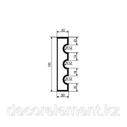 Наличники для фасада Н 150/1, фото 2
