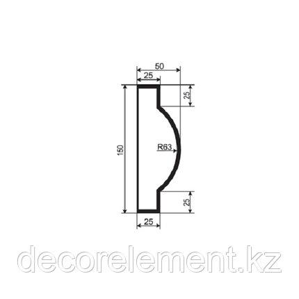 Наличники для фасада Н 150/5, фото 2