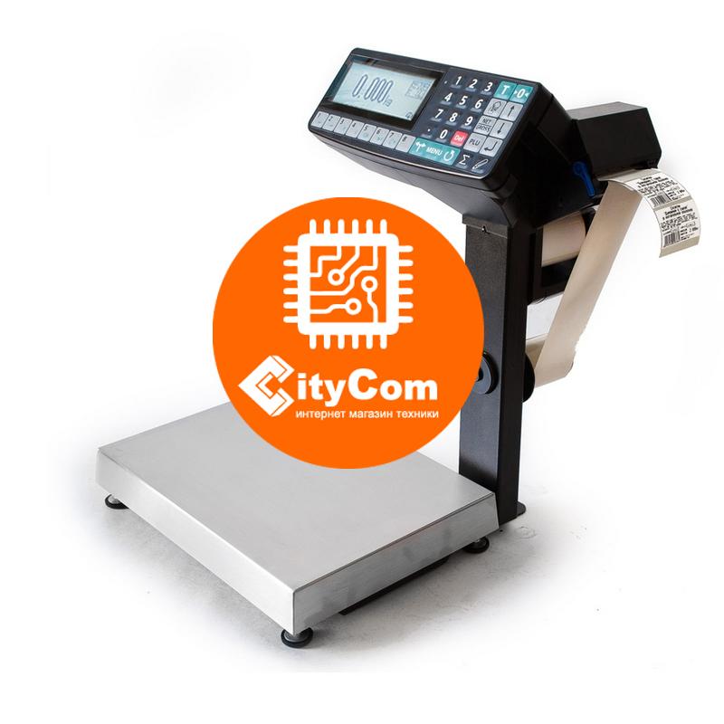 Весы торговые с печатью этикеток (цен) МассаК MK-15.2-RP-10-1 для магазинов Арт.6694