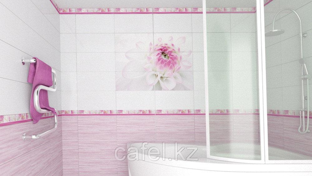 Кафель | Плитка настенная 25х50 Фреш | Fresh лиловый