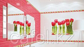 Кафель   Плитка настенная 25х50 Фреш   Fresh бордовый
