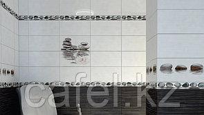 Кафель   Плитка настенная 25х50 Фреш   Fresh черный