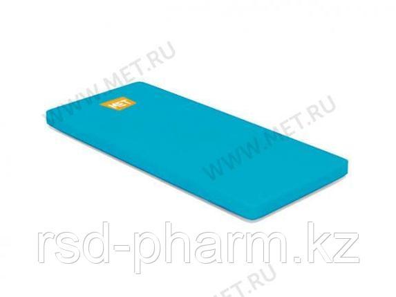 MET STANDART Матрас для Largo односекционный в чехле из ткани Комфорт голубой, ППУ-20, фото 2