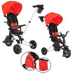 QPlay Велосипед трехколесный NOVA + Red красный