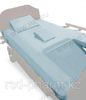 Простыни четырехсоставные натяжные (2 шт. в комплекте) для кровати МЕТ EMET, фото 2