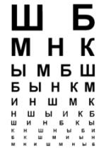 Справка на работу от офтальмолога