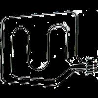 ТЭН В3-181/190/7,5-6,5/2 4Т220 для духовых шкафов