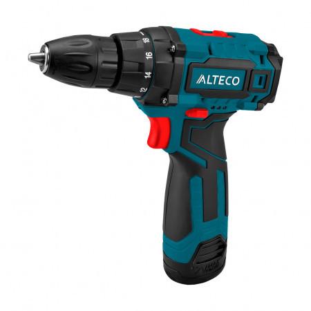 Аккумуляторная дрель-шуруповерт ALTECO CD 1210.1 X2 / 12V