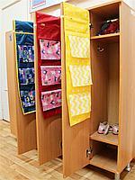 Подвесной органайзер -кармашек в шкафчик для детского садика, фото 2