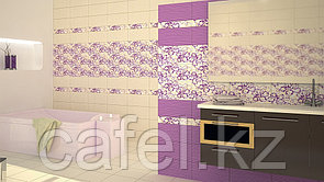 Кафель | Плитка настенная 20х40 Кураж 2 | Courazh 2 фиолетовый