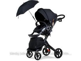 Универсальная коляска Dsland  2 в 1(черный,бежевый,серый,фиолетовый)
