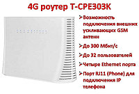 4G WIFI LAN умный роутер с поддержкой 4G сим карт, четырьмя Ethernet портами и с возможностью подключения внеш