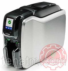 ZC300 односторонний цветной принтер Zebra, USB & Ethernet, ISO HiCo/LoCo Mag S/W Selectable