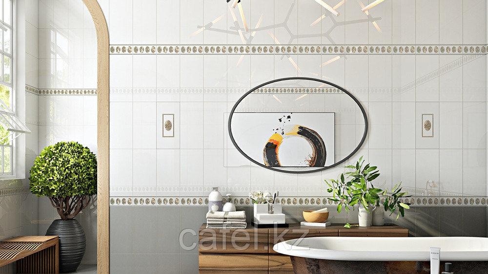 Кафель | Плитка настенная 20х40 Мидаль | Midal салатовый