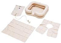 Комплект для мытья головы Armed : ванна надувная, емкость для воды, защитный фартук
