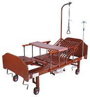 Кровать механическая YG-5 (ММ-5124Н-01) с боковым переворачиванием, туалетным устройством и функцией «