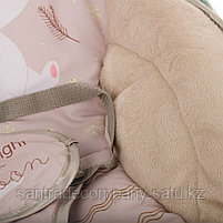 Шезлонг -качалка Fitch baby  Медвежонок( бежевый), фото 4
