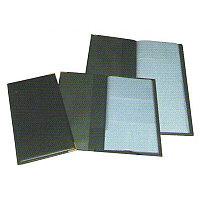 Визитница Bindermax на 72 визитки, 110x195мм, черная