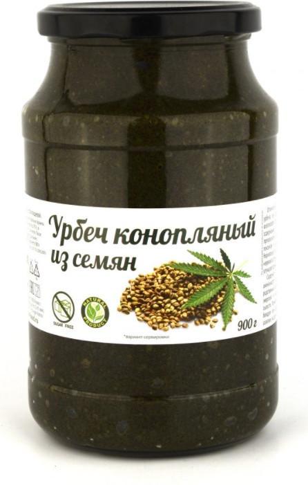Урбеч из семян конопли, 900 г
