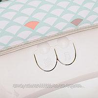 Шезлонг -качалка Fitch baby  Слоник( серый), фото 8