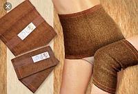 Комплект  согревающий пояс из верблюжей шерсти и наколенники из верблюжей шерсти Ziya