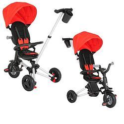 QPlay Велосипед трехколесный NOVA Red красный