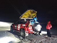 ЗИМНИЙ багажный бокс-палатка (автопалатка) YUAGO Travel Arctic 1000 л. 215х144х39 см.