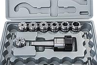 Цанговый патрон MK3/ER40 с набором из 7 цанг: 6, 8, 10, 12, 16, 20, 25 мм ER 40