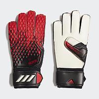 Перчатки вратарские Adidas Predator 20 MATCH размер 8 и 9( Красно-Черный ,Сине-Белый, Красно-Белый)
